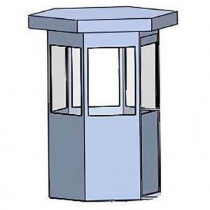 Guarita blindada móvel